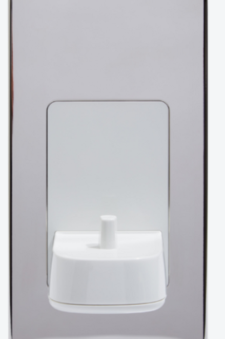 Proof Vision Single Toothbrush Charger Polished Steel
