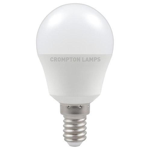 Crompton LED Round Thermal Plastic 5.5W 2700K SES-E14