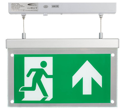 Bell Hang Down Emergency Sign