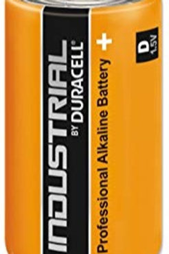 Duracell Industrial D Cell Pack 10