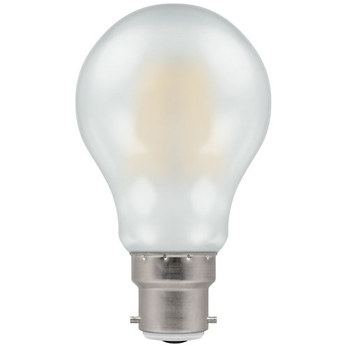 Crompton LED GLS Filament Pearl Dimmable 7.5W 2700K BC-B22d