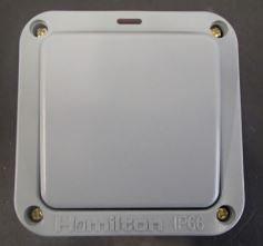 Hamilton Elemento 1 Gang IP66 Switch