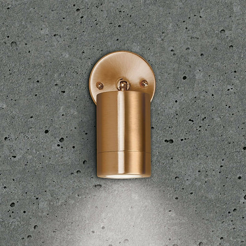Bell Lighting 10419 Copper Finish GU10 Adjustable Wall Light IP65