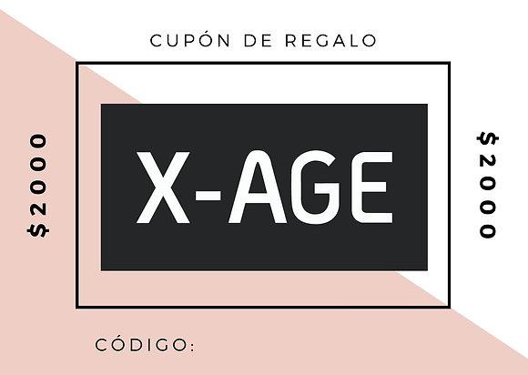 CUPÓN DE REGALO $2000