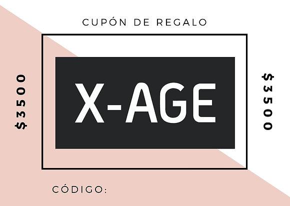 CUPÓN DE REGALO $3500