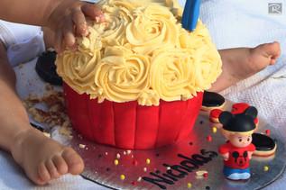 Rolando Vasquez Photographer. Primer Año/Smash the Cake