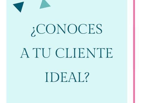 ¿Conoces a tu cliente ideal?