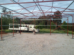 Shed Frame inside view