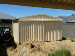 Storage shed 4x4x2.4