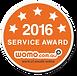 Coastline Sheds & Garages Perth  Service Award 2016Award Winning Perth Shed Builder 2016