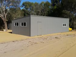 6m skillion shed Oakford