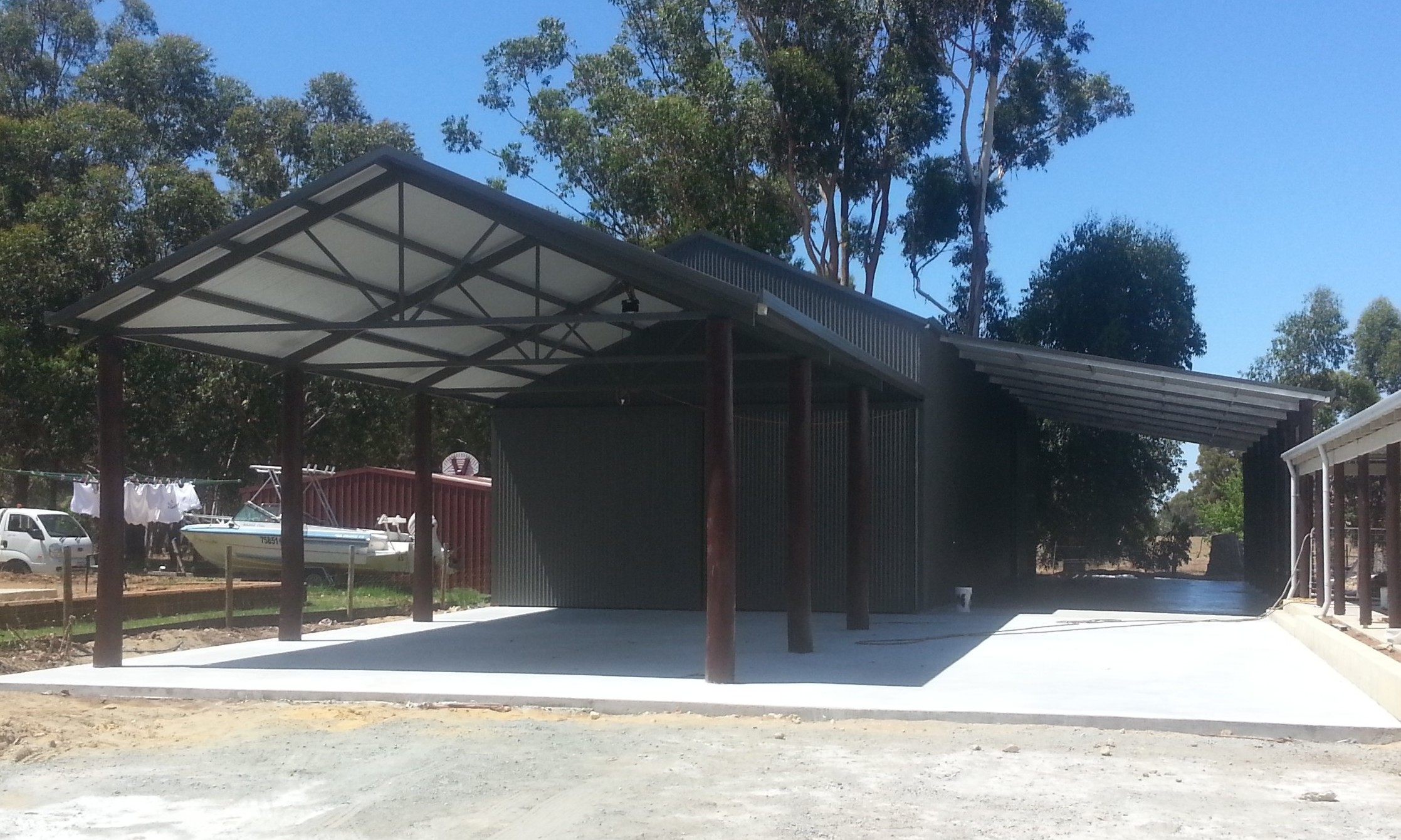 Rural Sheds Perth + Lean to