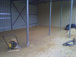 getting ready for floor