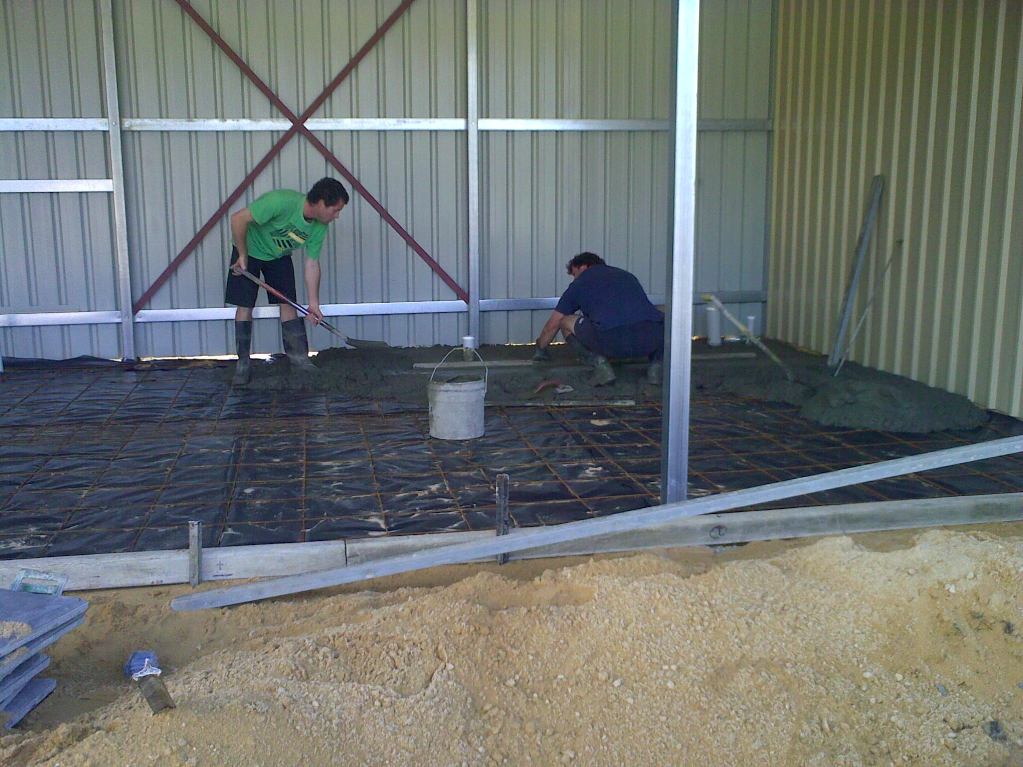 prep for concrete 1