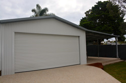Residential Shed with rollerdoor