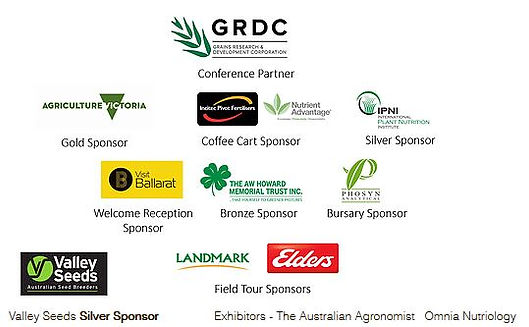 Agronomy Australia 2017 Conference Sponsors