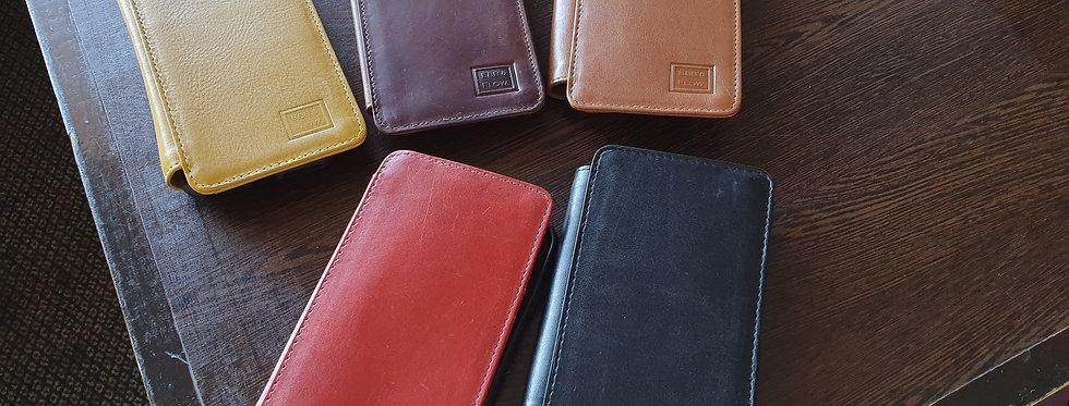 iPhone 6,7,8 & Plus Case Genuine Italian Vegetable Leather