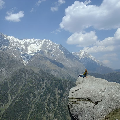 Hiking in the Himalayas, Relaxing, Bliss
