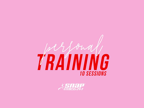 PT Session Snap Fitness Burdekin - 10 Sessions