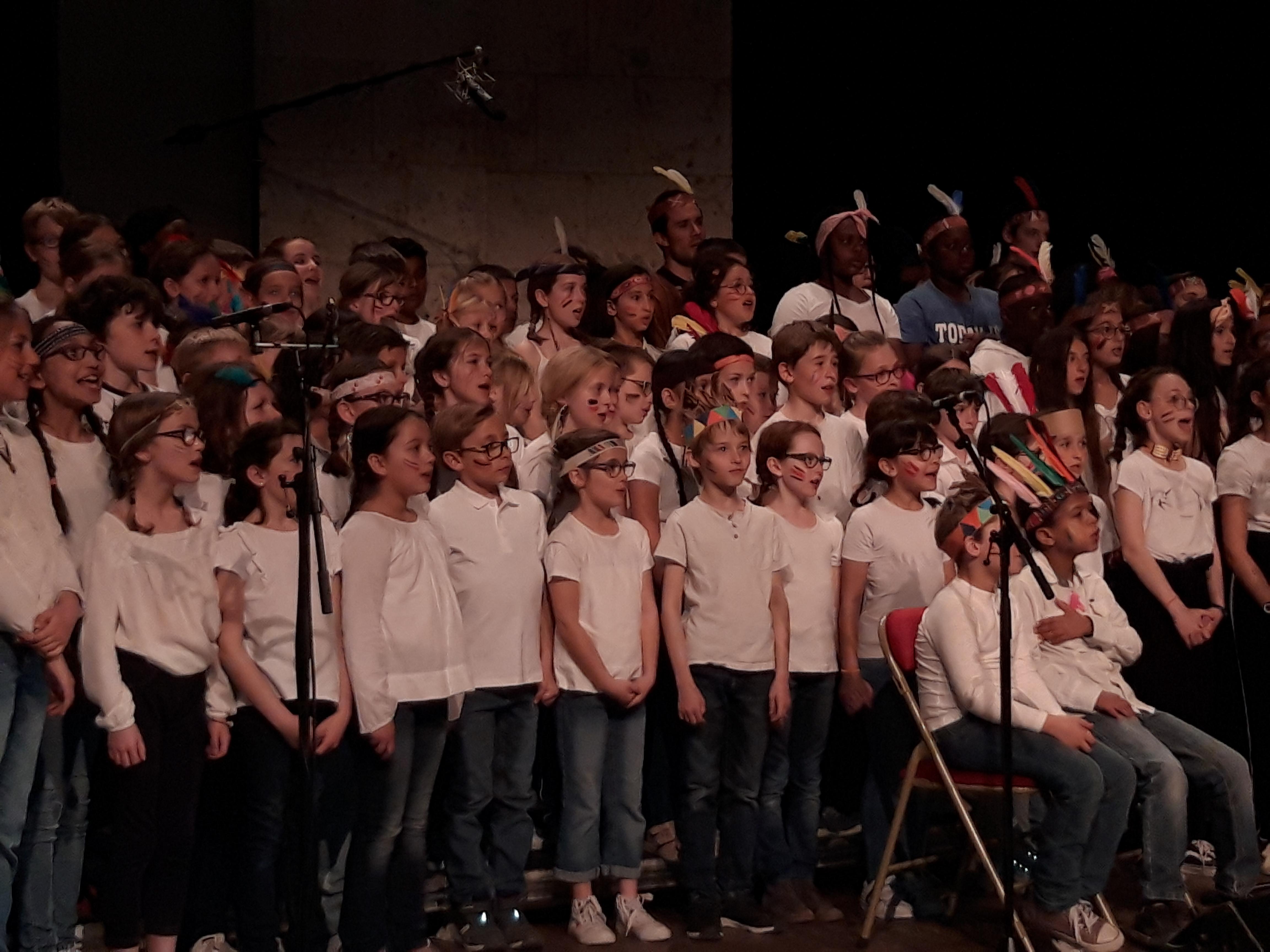 Spectacle de chorale -Mai 2019 -