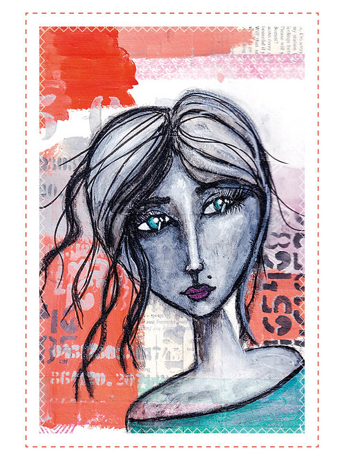 """Postkarte """"ohne Worte II"""""""