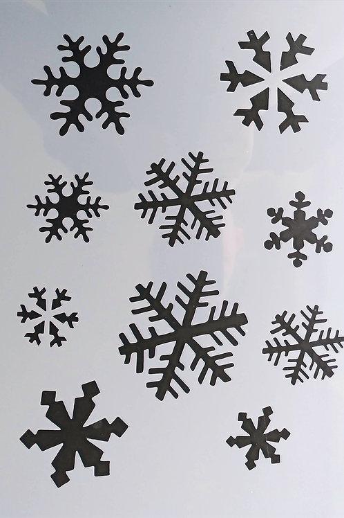 Schablone Christmas 4, A4