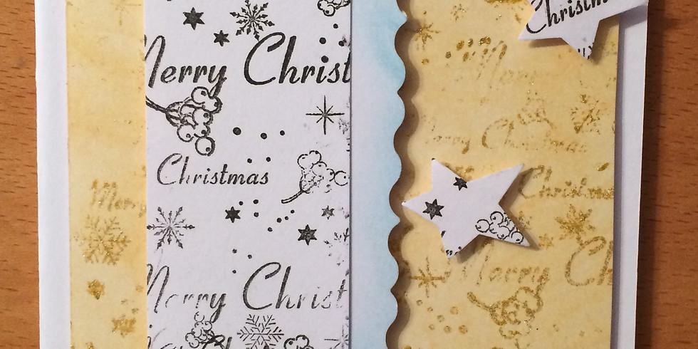 Weihnachtskarten gestalten Erwachsene