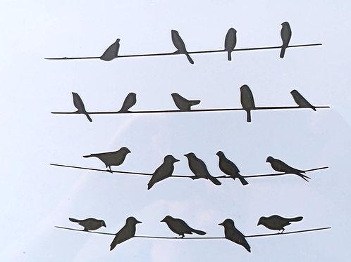 Schablone Vögel, A5