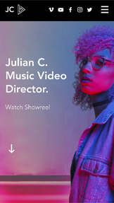 Видео website templates – Music Video Director
