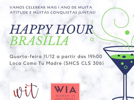 HH de Brasília das redes WIT e WIA!