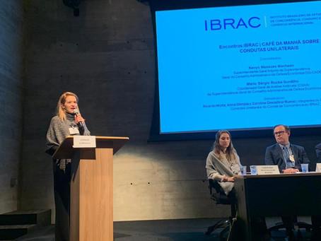 Café da manhã sobre condutas unilaterais no IBRAC