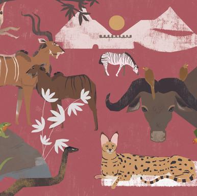 Africa Digital painting