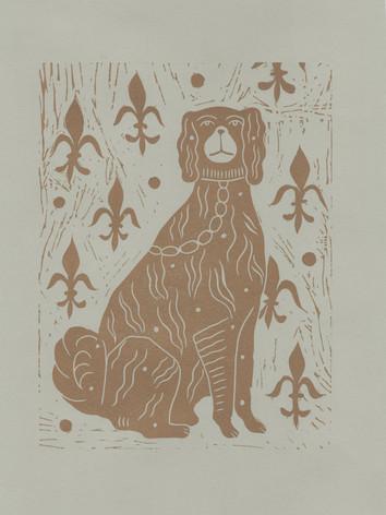 A4 Lino print