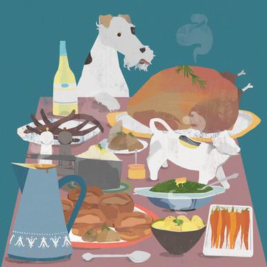 Fox Terrier Digital painting