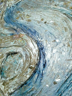 mica and textures in art
