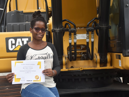 First Female Graduate of Technicians for the Caribbean