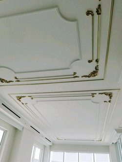 Gold Leafing Moldings