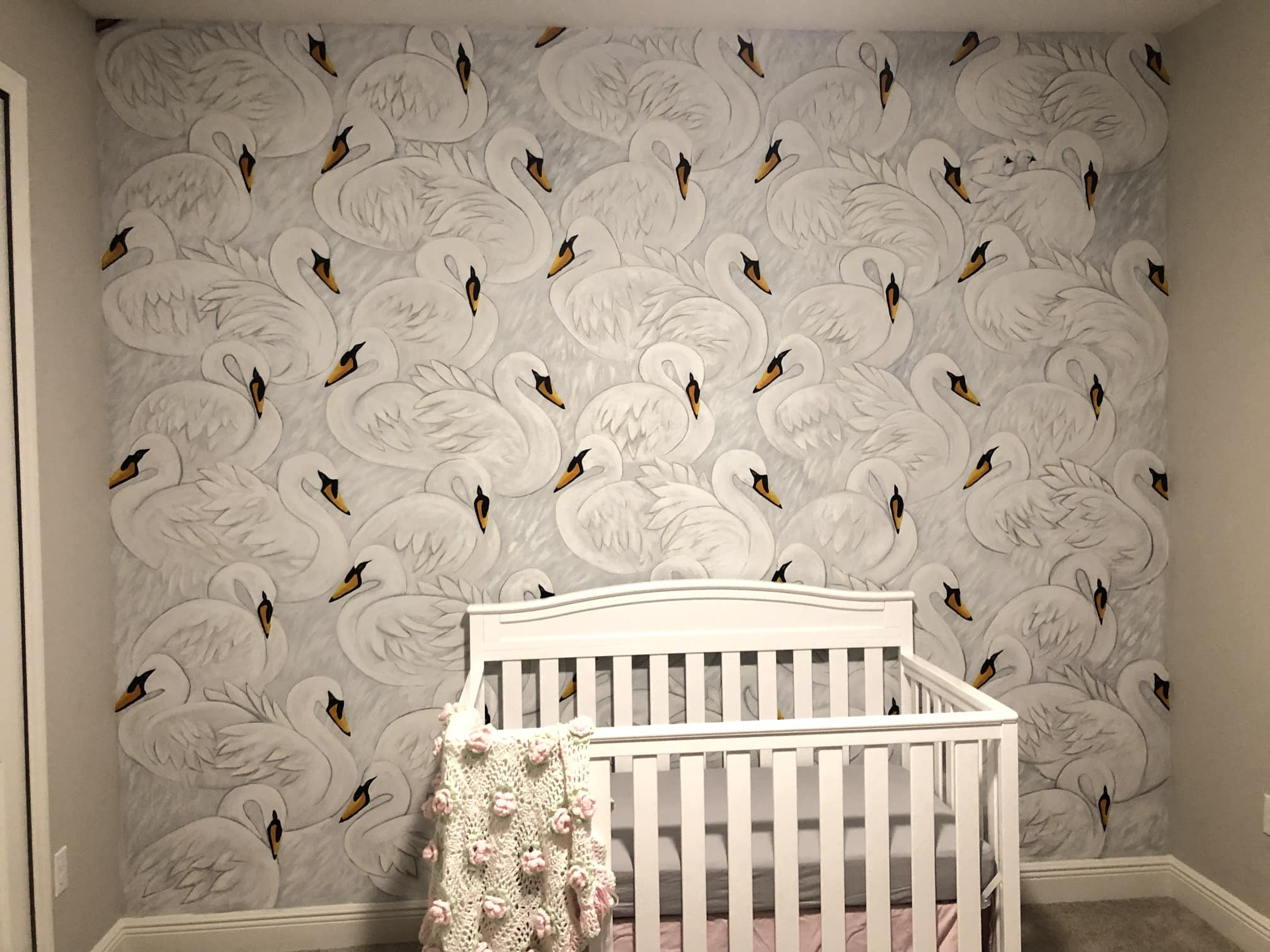 Swans in Nursery