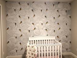 Swans in Nursery