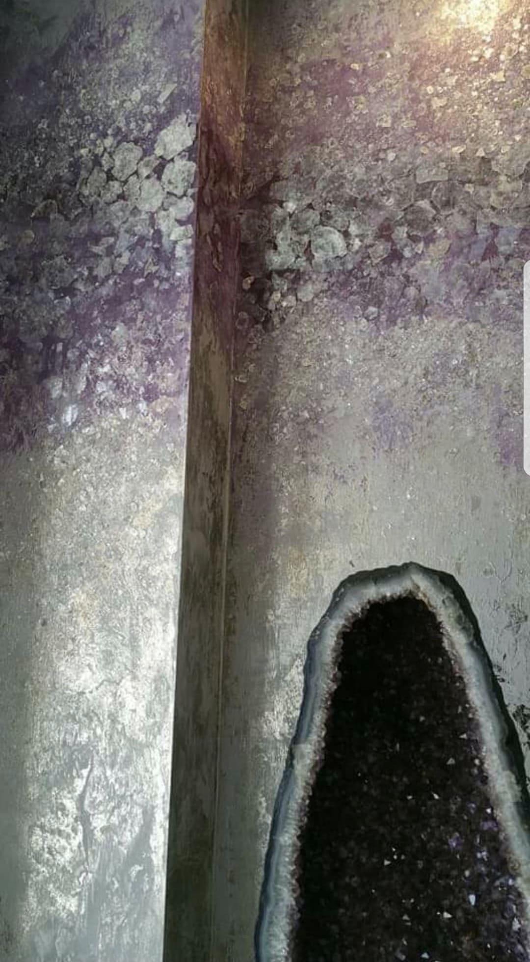 Mica Stone in Ameythyst