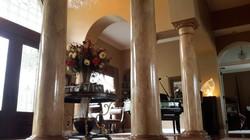 Faux Marble columns