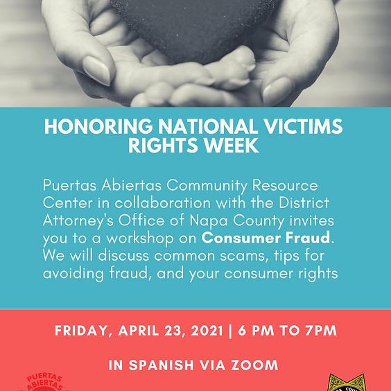 Consumer Fraud Workshop