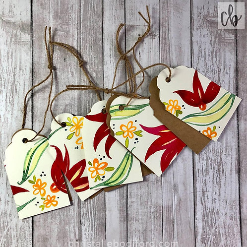 Spring In Bloom Gift Tags (5-Pack)