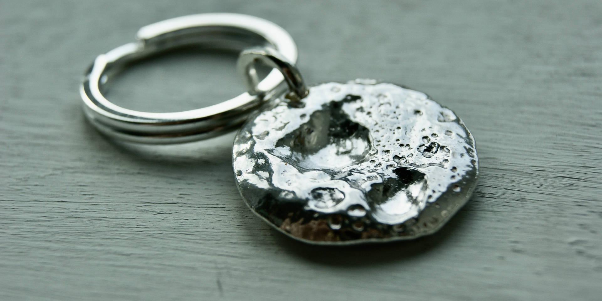Sterling Silver keyring