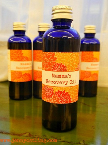 Mamma's Belly Recovery Oil 100ml