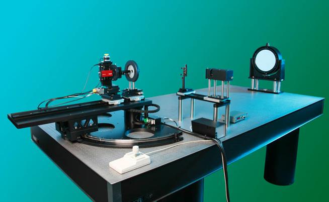 가시광선영역 무한원 측정 시스템 구성-2