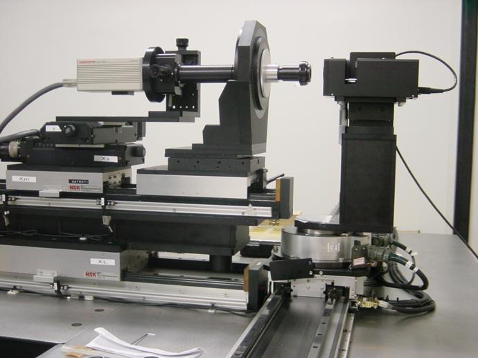 MTF 유한원 측정 시스템 구성