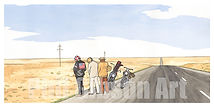 Easy Rider Motorcycle Art Print