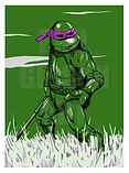 Teenage Mutant Ninja Turtles Donatello Art Print