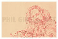 The Big Lebowski Art Print Bowling